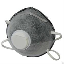 Маска малярная с угольным фильтроми клапаном БИБЕР - фото 5405