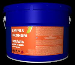 Эмаль для пола алкидная EMPILS «ЭКОНОМ» жёлто-коричневая 20 кг - фото 6514