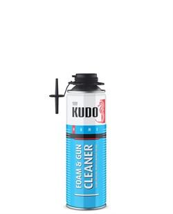 Очиститель KUDO Home монтажной пены 650мл (12шт/уп.) - фото 7842