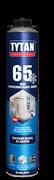 Пена профессиональная TYTAN 65л, зимняя (-20), 750 мл