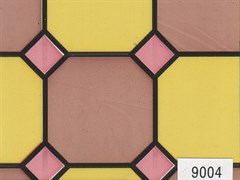 9004 D&B витраж цветной 45 см/8 м