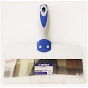 Шпатель 200мм полир. нерж. сталь, усиленная 2-х компонентная серо-синяя ручка, ТРЕЙСИ МАСТЕР
