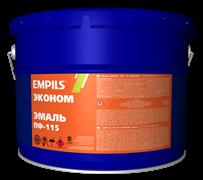 Эмаль EMPILS ПФ-115 «ЭКОНОМ» чёрная 10 кг