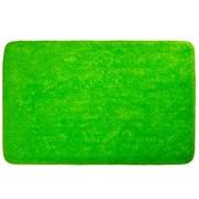 Коврик для ванной, акрил. 50х80см, Однотонный зеленый