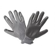 Перчатки нейлоновые с нитриловым покрытием  ЛЮКС , черные/960