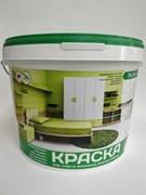 Краска ВД Эмальер Для Стен и Потолков влагостойкая белоснежная 3 кг (4/168)
