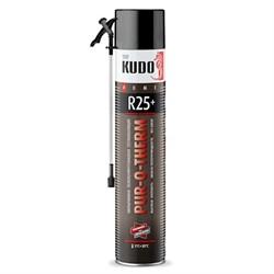 Теплоизоляция KUDO напыляемая бесшовная PUR‑O‑THERM R25+ (слой 5см - 2кв.м.) +адаптер - фото 11885