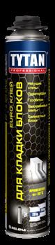 Клей-пена TYTAN PROFESSIONAL EURO для кладки блоков GUN 870 мл (12шт) - фото 12053