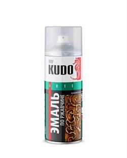3005 Эмаль молотк. по ржавчине серебристо-серо-коричневая KU-3005 - фото 12504