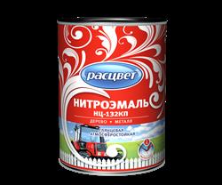 Эмаль НЦ-132КП С  РАСЦВЕТ  красная 1.7 кг (6шт/уп) - фото 12707