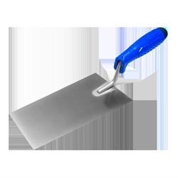 Кельма (мастерок) отделочника (трапеция) 200мм, нерж. сталь, с пласт синей ручкой, Наш инструмент - фото 15517