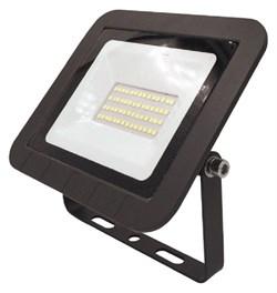 Светодиодные прожекторы ЭРА LPR-061-0-65K-030 30Вт 2800Лм 6500К 160x135x30 - фото 17669