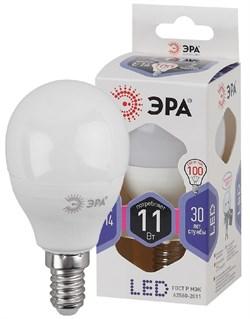 Лампа светодиодная  ЭРА LED smd P45-11w-860-E14 - фото 17721