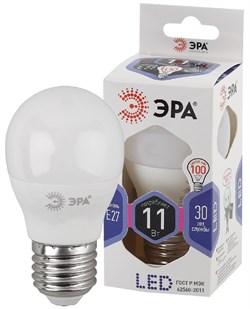 Лампа светодиодная  ЭРА LED smd P45-11w-860-E27 - фото 17722