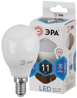 Лампа светодиодная  ЭРА LED smd P45-11w-840-E14 - фото 17765
