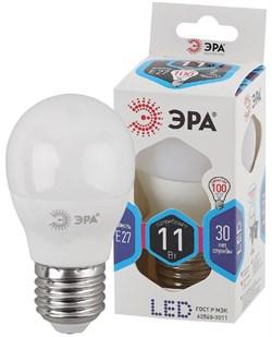 Лампа светодиодная  ЭРА LED smd P45-11w-840-E27 - фото 17766