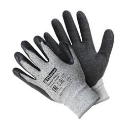 Перчатки со стекловолокном с текструрированным латексным покрытием, Fiberon, 9(L) (арт. PSV039P) - фото 22250