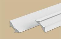 Угол внутр. вспенен галтель белый 2,7м (30шт/уп) - фото 22531