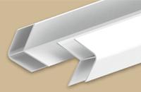 Угол наружний для панелей 8мм 3,0м  Идеал Санни  белый (25шт/уп) - фото 22610