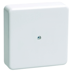 Коробка распаячная 75х75х20 (без клеммы) белая IP40 ЭРА - фото 4650