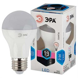 Лампа светодиодная  ЭРА LED smd A65-19W-840-E27 - фото 5016