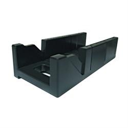 Стусло пластмассовое 300х140х70 БИБЕР черное Стандарт 4 - фото 5399