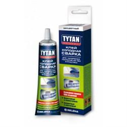 Клей для напольных покрытий из ПВХ и пластика, холодная сварка Tytan 100 гр (18шт) - фото 5835