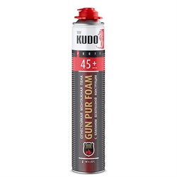 Пена профессиональная KUDO PROFF 45+ огнестойкая 1000мл (12шт) - фото 7475