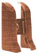 Заглушка для плинтуса 85мм  Элит-Макси  Дуб кофейный (25пар/уп) - фото 8520