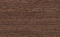 Плинтус 55мм  Комфорт  Орех темный с мягким краем(40шт/уп) - фото 9311
