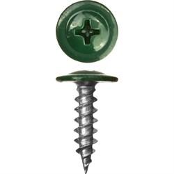 Прессшайба RAL 6005 4,2/16 острый (1000шт) зеленый мох - фото 9438