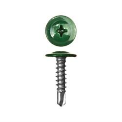 Прессшайба RAL 6029 4,2/16 сверло (1000шт) мятно-зеленый - фото 9464