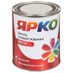 Эмаль ЯРКО ПФ-115 желтая, банка 0,9кг(14шт) - фото 9754