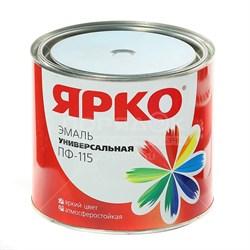 Эмаль ЯРКО ПФ-115 красная, банка 1,9кг (6шт) - фото 9772