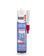 Герметик KUDO KSK-101 силиконовый универсальный белый 280мл (12шт)