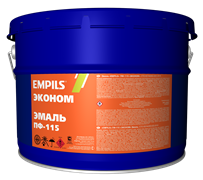 Эмаль EMPILS ПФ-115 «ЭКОНОМ» светло-голубая 10 кг