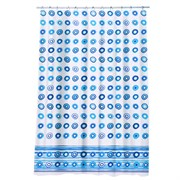 VETTA Шторка для ванной полиэстер с утяж. 180х180 голубая галька
