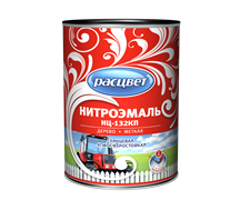 Эмаль НЦ-132КП С  РАСЦВЕТ  черная 0.7 кг (14шт/уп)