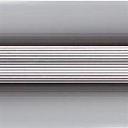 Стык 38мм 1,8 анодированный серебро глянец