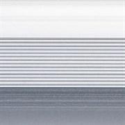 Стык 38мм 0,9 анодированный серебро-матовый
