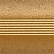 Стык 38мм 1,8 анодированный золото глянец