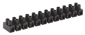 Зажим винтовой ЗВИ-6 NO-222-98-2 полиэтилен 0.75-4мм² 12пар белый (10шт/уп)