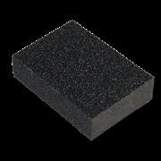 Губка для шлифования 100х70х25мм SANTOOL Р 60/80 (№25/16)