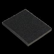 Губка для шлифования 125х100х10мм SANTOOL Р80/120 (№16/10)