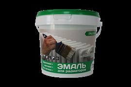 Эмаль акриловая  ЭМАЛЬЕР  для радиаторов  матовая 0.9 кг (12шт)