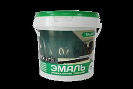 Эмаль акриловая  ЭМАЛЬЕР  глянцевая белая 1,3 кг (12шт)