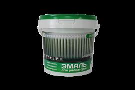 Эмаль акриловая  ЭМАЛЬЕР  для радиаторов глянцевая 0.9 кг (12шт)