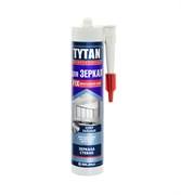 Клей монтажный  TYTAN  №930 для зеркал бежевый картридж 380 гр (12шт)