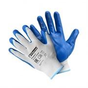 Перчатки из полиэстера с нитриловым покрытием, Fiberon, 9(L) (арт. PSV028P)
