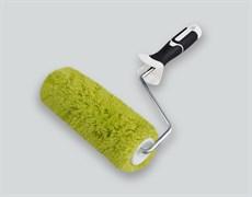 Валик полиакрил 180мм НАМЕРЕНИЕ d42мм,ворс18мм, с 2К ручкой 8мм,зеленый  B.W.  Профи